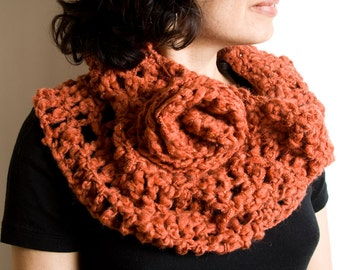 Custom made Crochet Cowl in style of your choice  ON SALE