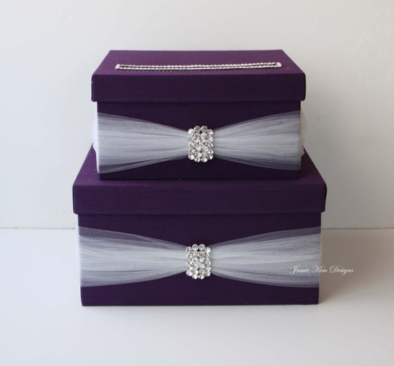 Wedding Gift Box Suggestions : Wedding Card Box Money Box Wedding Gift Card Money Box - Custom Made ...