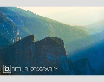 Summer's Kings, Yosemite. Fine Art Giclée Canvas Wrap