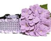 Dog Collar Flower Add-on Hydrangea Flower For Dog