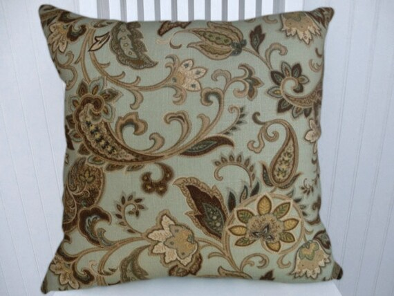 22x22 Decorative Pillows : Floral Decorative Pillow Cover18x18 or 20x20 or 22x22