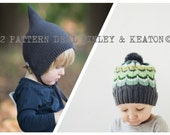 2 Pattern Deal  PDF Knitting Pattern to Knit Your Own Hat at Home - FINLEY and KEATON