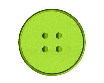 Button Machine Embroidery Applique Design-INSTANT DOWNLOAD