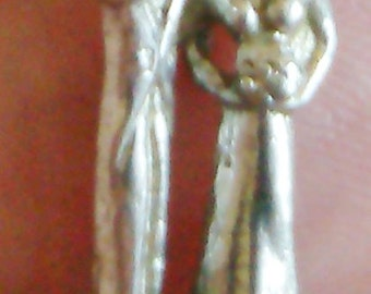 Bride and Groom or Prom Charm or Pendant