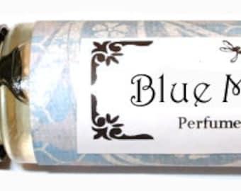BLUE MOON - Roll on Premium Perfume Oil - 1/3 oz   Jasmine Lily Citrus Rose White musk