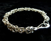 Byzantine Stainless Steel (4mm) Chainmail Jewellery Bracelet