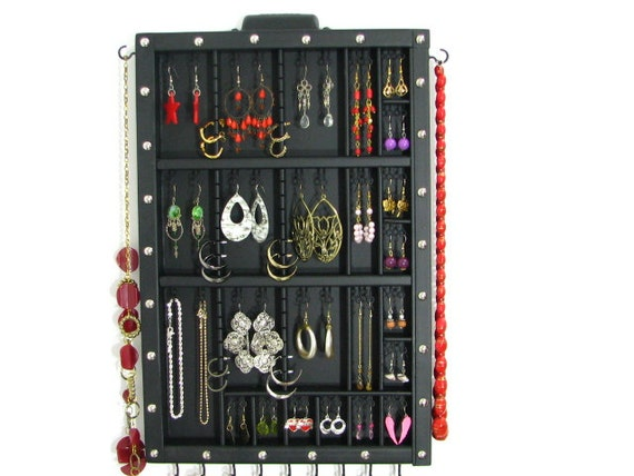 Earring Organizer with our signiture stud slots to allow for maximum storage