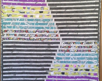 Read Between the Lines Modern Quilt