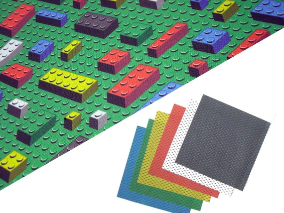Brick Toys Fabric bundle - fat quarter plus six small squares