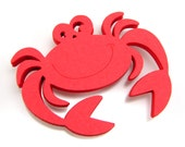 "2.43"" Crab Die Cuts set of 25"