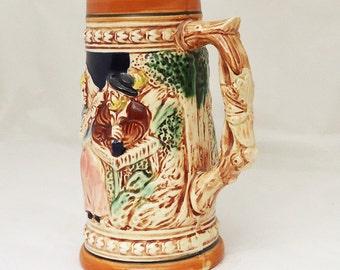 Vintage Mid Century Beer Stein, Vintage  Mug Made in Japan, UK Seller