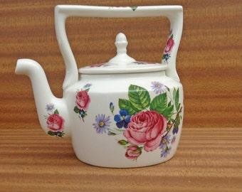 Vintage  Artur Wood Decorative Tea Pot, Fine Staffordshire Ironstone, UK Seller