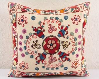 Handmade Suzani Pillow Cover ssp108-12