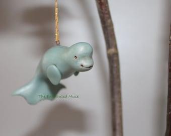 Enchanting Beluga Ornament Made to Order
