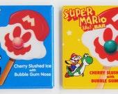 Super Mario Ice Cream Fridge Magnet Set (2 x 2 inches each)