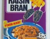 Raisin Bran Fridge Magnet