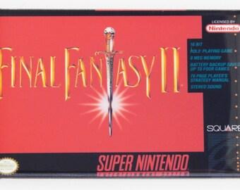 Final Fantasy 2 Video Game Fridge Magnet