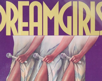 Dreamgirls Vocal Selections, Broadway Musicals, Sheet Music, Piano Guitar, Vintage 1980s
