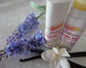 SALE - Lavender Vanilla- Lip and Cuticle Balm - .15oz Oval Twist Up Tube - 100% Organic - BPA Free Container