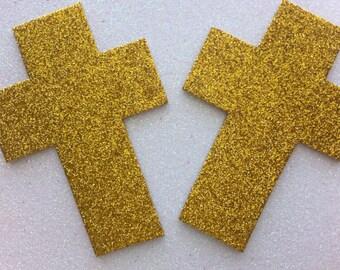 Rave wear Cross pasties glitter