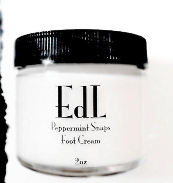Foot Cream - Peppermint Snaps Toots Cream - Treat your Tired and Aching Feet - Cooling and Relaxing