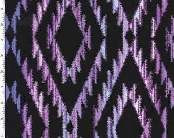 Michael Miller - Tribal Blanket - Purple