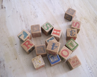 Mickey Mouse wooden blocks