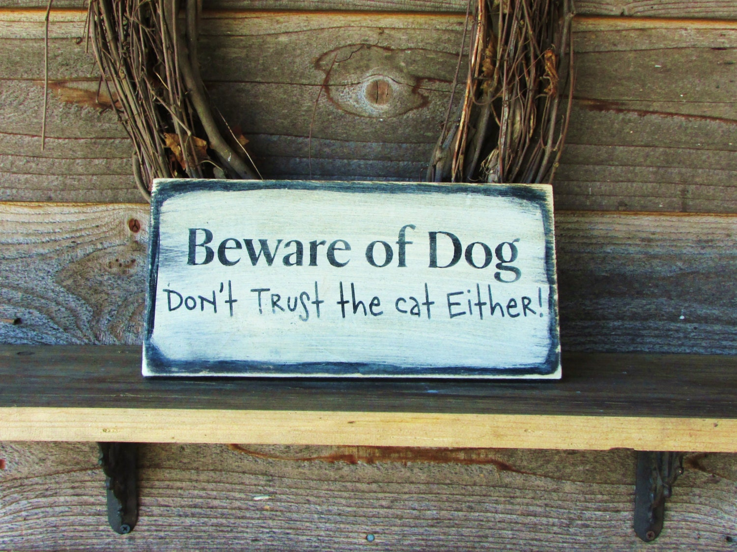 Dog signs country home decor funny pet sign wood signs for Funny home decor