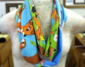 Upcycled Disney's Bambie Infinity Scarf