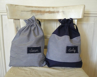 Bags for KIDS, bags for clean and dirty clothes, lingerie bags, travel kids