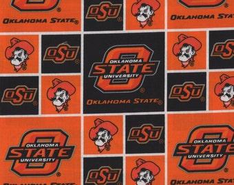 OSU, Oklahoma State University Collegiate, Oklahoma State COWBOYS, OSU Fabric, 05130