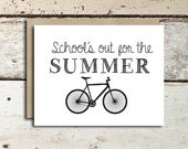 Graduation Card instant download/printable School's out the SUMMER