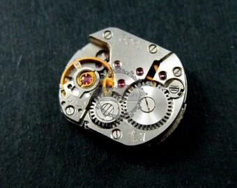 13.5x16.5mm vintage steam punk watch movement antiqued cabochon DIY supplies 1830025