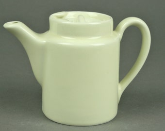 Off-White Small Hall Coffee or Tea Pot for One made in the USA