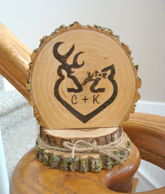 wooden rustic country wedding cake topper wedding cake topper rustic wood personalized deer 27594