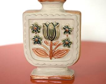 Vintage Tulip Flower Vase