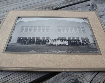 Antique 1920s Elementary School Photo Canfield Ohio