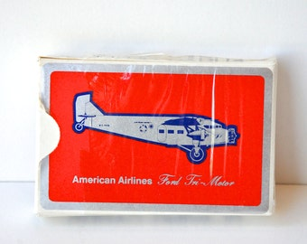 Vintage American Airlines Deck of Cards