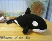 Crochet Orca -- On Sale