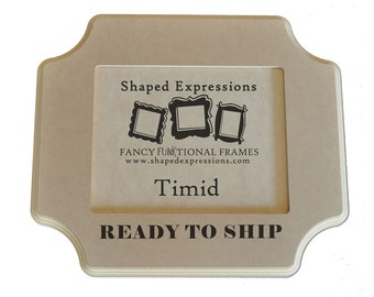 READY TO SHIP - 8x10 Timid - unfinished picture frame