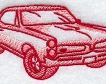 Custom Embroided 1967 Pontiac GTO Tshirt S-3XL