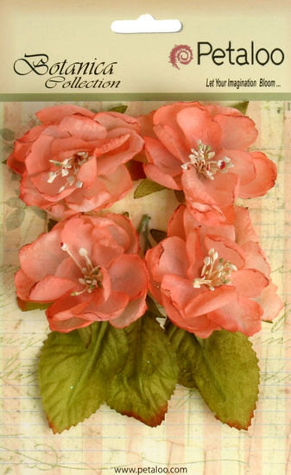 30% OFF TODAY ONLY - Petaloo - Botanica Collection - Coral - 4-Pack (1102-105)