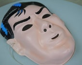Vintage Marvel Superhero Punisher Halloween Mask