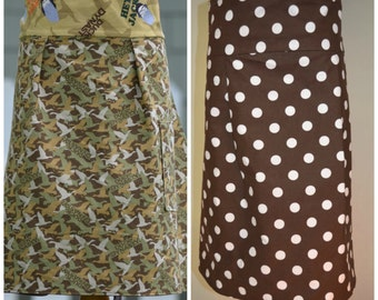 APRON SALE Camo Aprons Duck Dynasty Ready to Ship Adult Womens Reversible Aprons