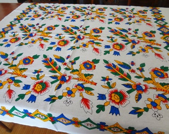 Tablecloth with traditional design from Turkey - small square