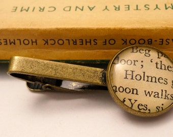 Sherlock Holmes 'Holmes' vintage literary tie clip