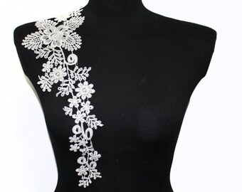 One Side Lace Crochet Collar for Shirt Blouse Dress sewing and crafting No' 12