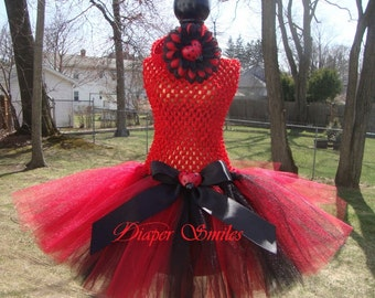 Lady Bug Birthday or Dress up Theme Tutu Dress