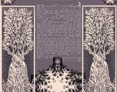 """printable pdf-  Conservative with Lieberman clause ketubah to fill - 24"""" x 32.""""- 60x85cm"""