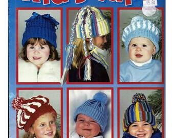Kids Caps Crochet  Pattern Book Leisure Arts 2918